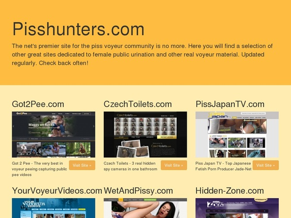 CTK Piss Hunters Free Movies
