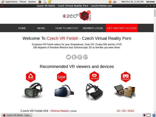 Free Czech VR Fetish Acounts