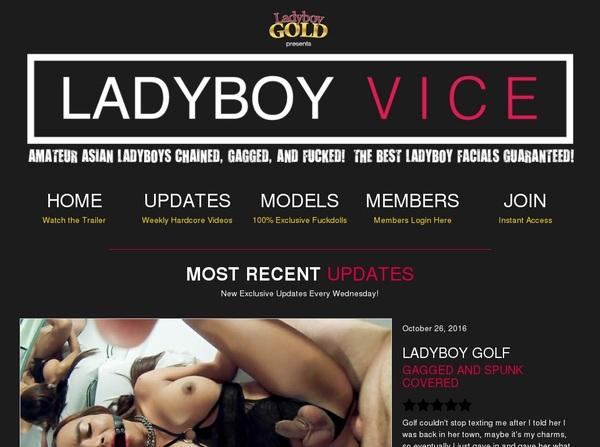 Free Ladyboy Vice Id