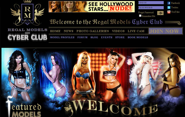 Regal Models Cyber Club Pay Site
