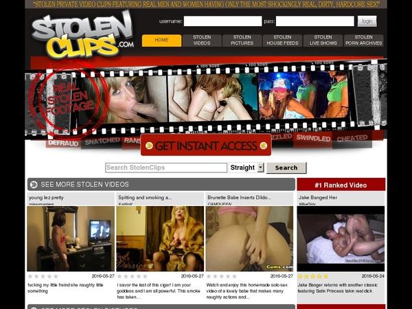 Stolenclips.com Free Premium Accounts