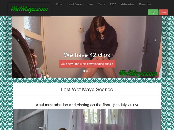 Wetmaya.com Password Account