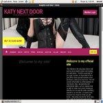 KATY NEXT DOOR With Online Check