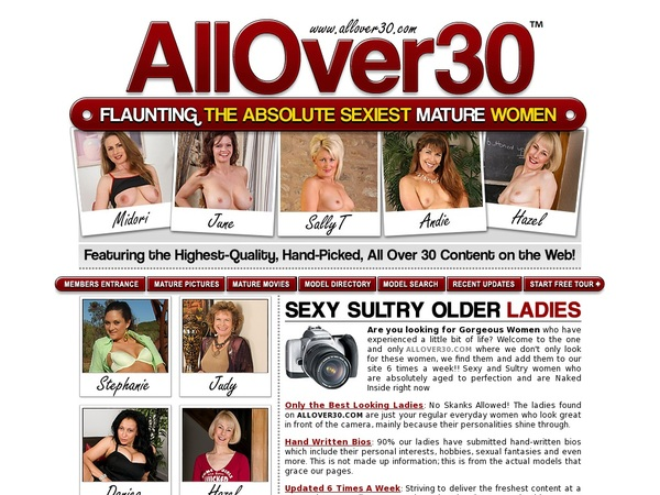 Allover30.com Account Information