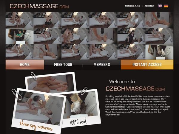 Czechmassage.com Free Pass
