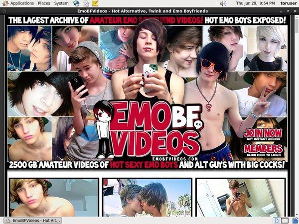 Emo BF Videos Promo Code