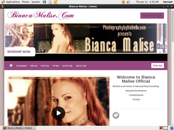 Bianca Malise Account Share