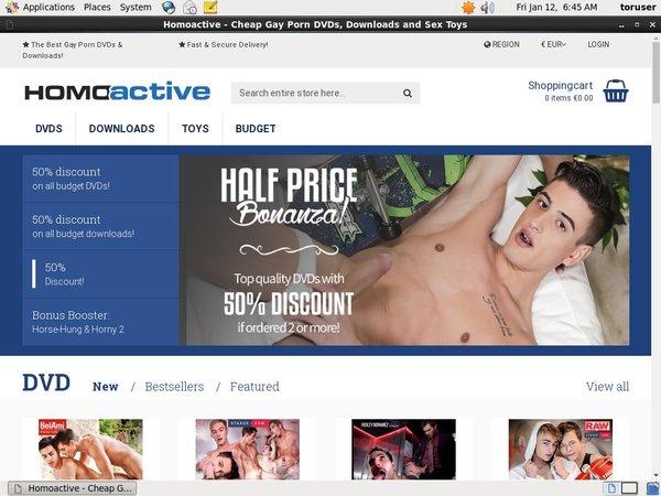 Free Homo Active Movie