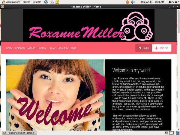 RoxanneMiller Premium Login
