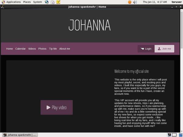 New Free Johanna Spankmehr Account