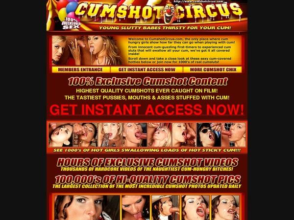 Premium Cumshot Circus Account