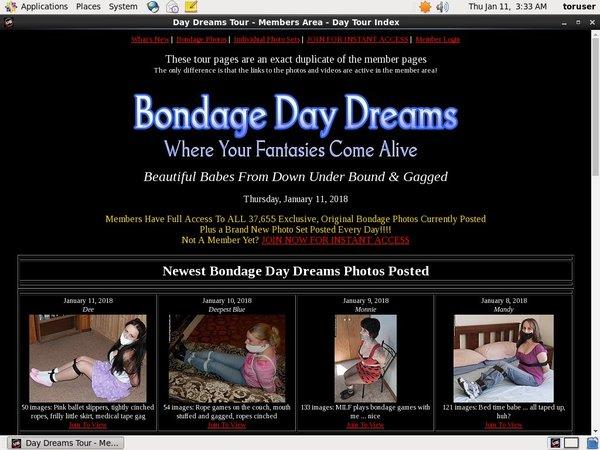 Bondagedaydreams Make Account