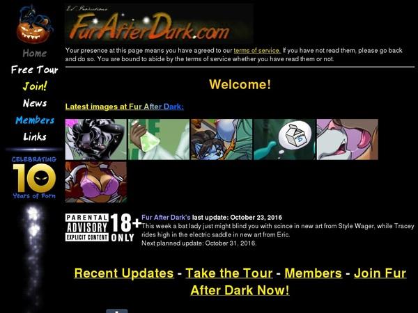 Fur After Dark Porn Account