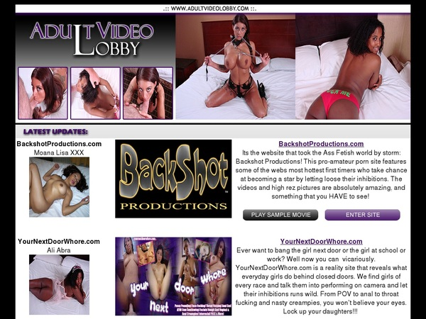 Adult Video Lobby Account
