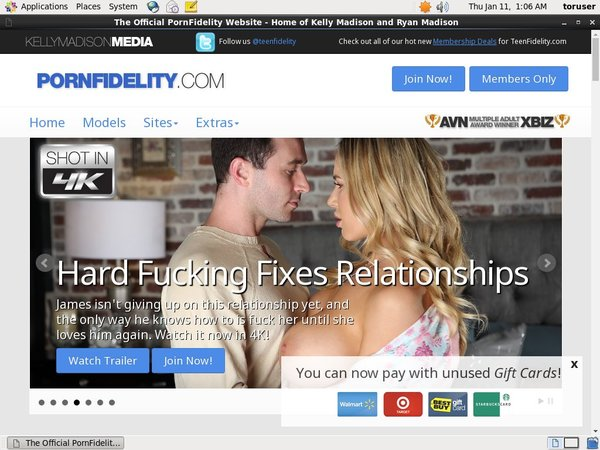 Pornfidelity Accont