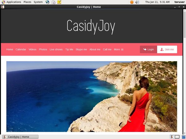 Casidyjoy.modelcentro.com Pro Biller Page