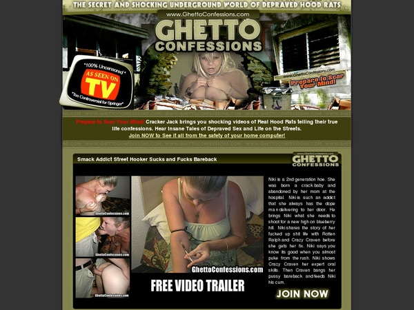 Free Ghettoconfessions.com Account Login