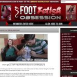 Foot Fetish Obsession With Zombaio