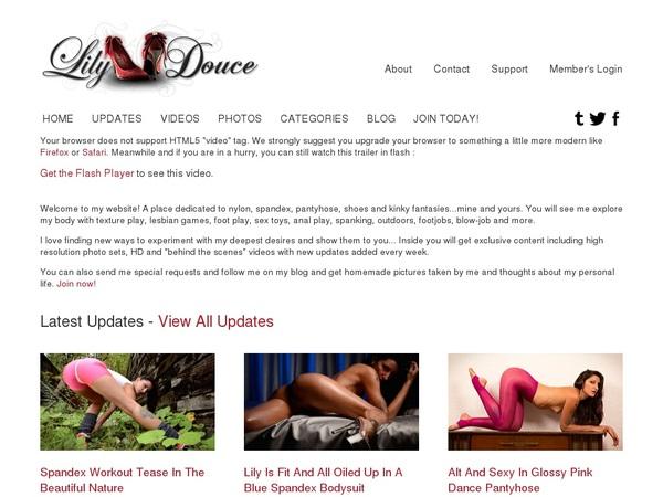 Lilydouce.com Day Trial