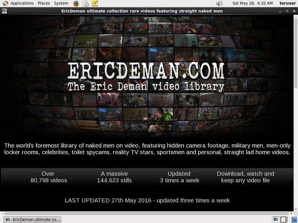 Free Login For Eric Deman