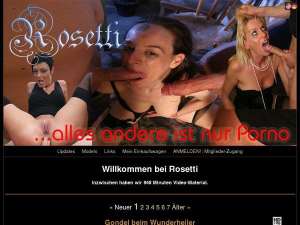 Rosetti.tv Sign Up Again